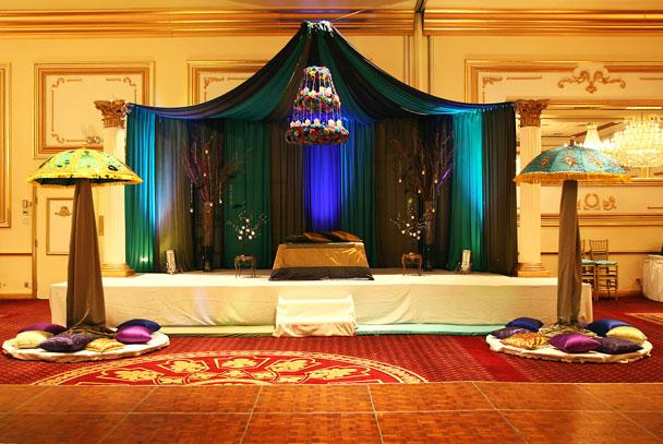 Mehndi Peacock Theme : Muslim wedding resources the bride llc