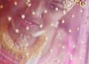 A Pink Bridal Ghoonghat