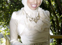 Designed Couture Bridal Hijabs By VELA