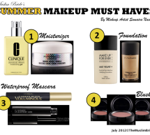 Summer Makeup Must-Haves By Sumaira Nashat