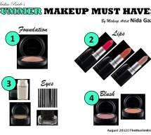 Summer Makeup Must-Haves By Nida Gazi