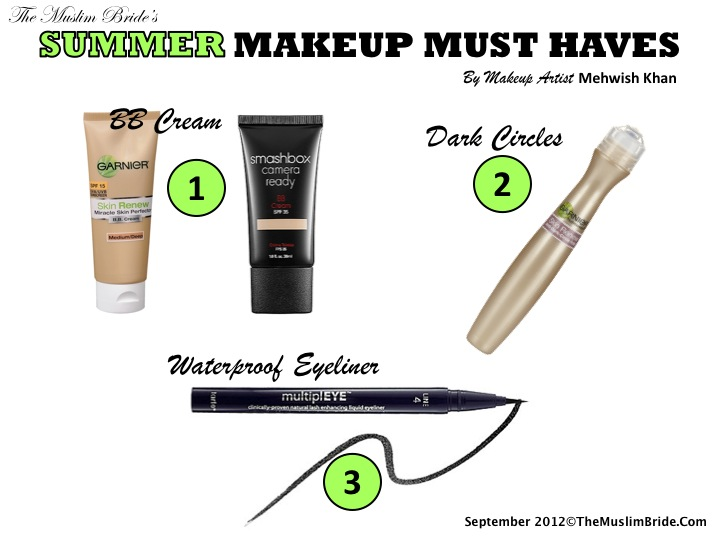 Summer Makeup Must-Haves By Mehwish Khan
