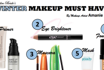Winter Makeup Must-Haves By Amanie Mokdad