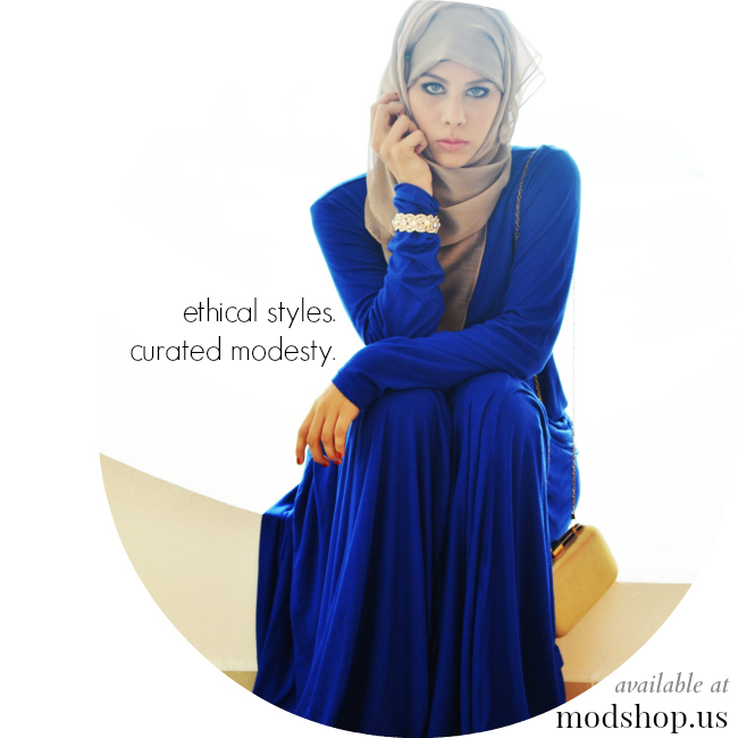 Ethical Modest Fashion Styles at The Modshop By Sadeel Allam