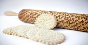 Engraved Wooden Rolling Pins With Fun Patterns By Zuzia Kozerska