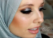 Silver Special Occasion Makeup Tutorial By Chelsey Hijab Love