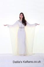 Dalilas Kaftans: Dubai Style Butterfly Extra Arm Length Kaftans