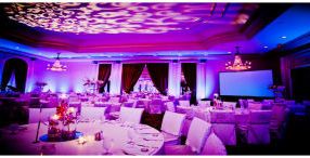Real Wedding: Reema and Asir's Radiant Orchid Wedding Reception