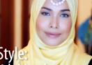A Bridal Hijab Styling Tutorial By Adlina Anis