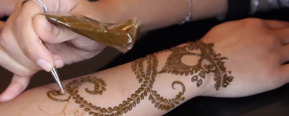Arabic Henna Tutorial By Samira Henna Art