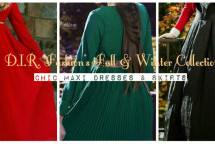 Fall And Winter Modest Maxi Dresses And Skirts Collection By D.I.R. Fashion